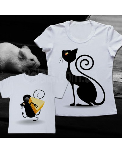 "Фото Family look Balala ""Cat and Mouse"" 6-9 мес XL"