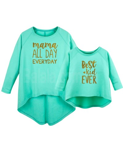 """Фото Family look """"Mama All Day"""" 12-18 мес L"""