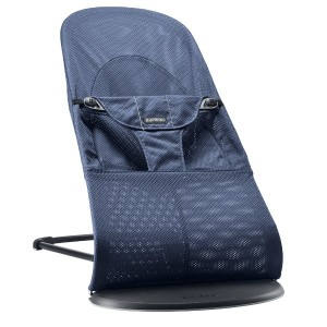 "Фото Шезлонг детский BabyBjorn ""Balance Soft Midnight Blue Mesh"""