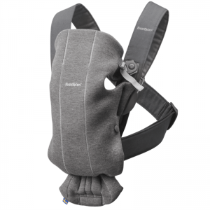 Фото Рюкзак-кенгуру Babybjorn Mini Dark Grey 3D