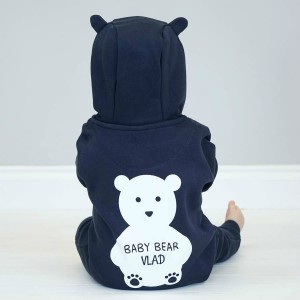 "Фото Комбинезон Balala ""Dark Blue Bear"" (любое имя)"