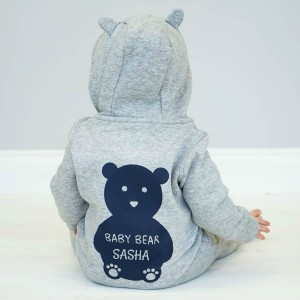 "Фото Комбинезон Balala ""Light Grey Bear"" (любое имя)"