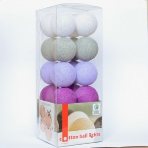 "Фото Светящиеся шары Cotton Ball Lights ""Lavender Style"""