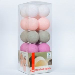 "Фото Светящиеся шары Cotton Ball Lights ""Lovely"""