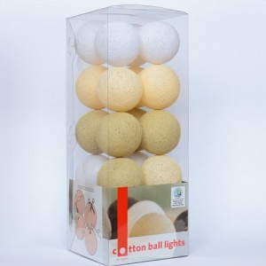 "Фото Светящиеся шары Cotton Ball Lights ""Shell Beauty"""