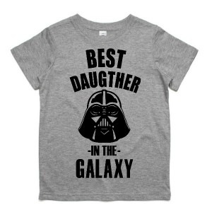"Фото Детская футболка Balala ""Best Daughter in the Galaxy"""