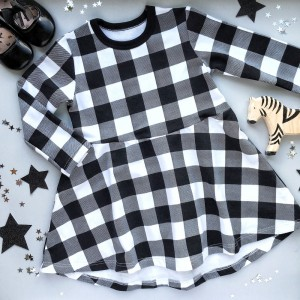 "Фото Платье Ripka ""Black & White Plaid"""
