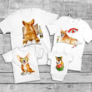 "Фото Family Look Balala ""Corgi"""