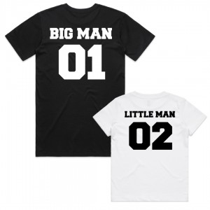 "Фото Family look Balala ""Big Man - Little Man"""