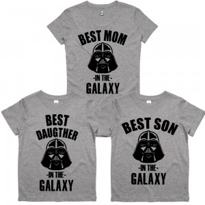 "Фото Family look Balala ""Family - Best in the Galaxy"""