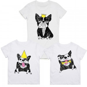 "Фото Family look Balala ""French Bulldogs"""