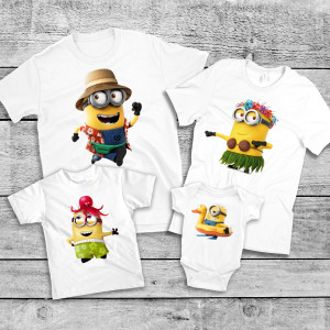 "Фото Family Look Balala ""Minions Vacation"""
