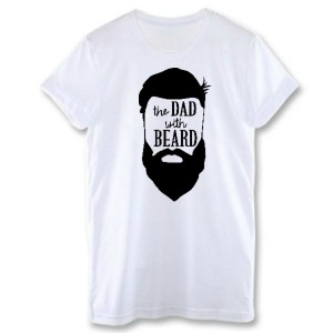 "Фото Футболка для папы Balala ""The Dad with Beard"""