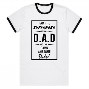"Фото Футболка для папы Balala ""Superhero Dad"""