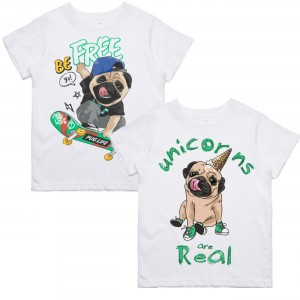 "Фото Family look Balala ""Summer Pugs"""