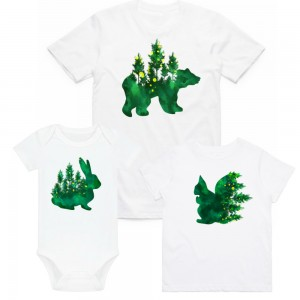 "Фото Family look Balala ""Green Animals"""