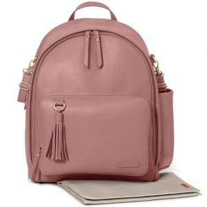 "Фото Рюкзак для мамы Skip Hop ""Greewich Simply Chic Dusty Rose"""