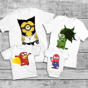 "Фото Family Look Balala ""Superminions"""