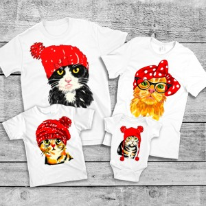 "Фото Family Look Balala ""Fashionable Cats"""