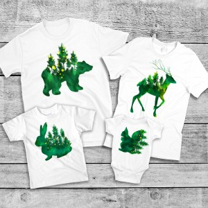 "Фото Family Look Balala ""Forest Animals"""