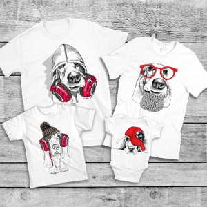 "Фото Family Look Balala ""Hipster Pups"""
