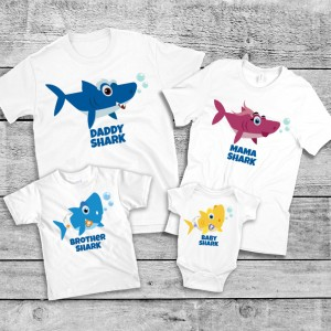 "Фото Family Look Balala ""Sharks Doo-Doo-Doo!"""