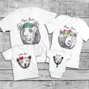 "Фото Family Look Balala ""Summer Bears"""
