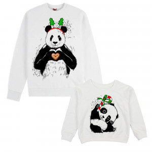 "Фото Family look Balala ""Christmas Pandas"""