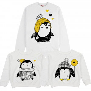 "Фото Family look Balala ""Yellow Penguins"""