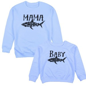 "Фото Family look Balala ""Mama/Baby Shark"""