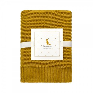 "Фото Детский плед Blankee ""Baby Basic Gold"""