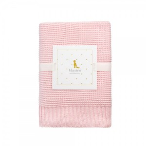 "Фото Детский плед Blankee ""Baby Basic Pink"""