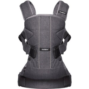 "Фото Рюкзак-кенгуру Babybjorn ONE ""Denim Grey/Dark Grey"""