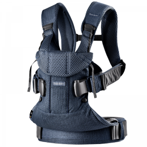 Фото Рюкзак-кенгуру BabyBjorn ONE Air Navy Blue Mesh