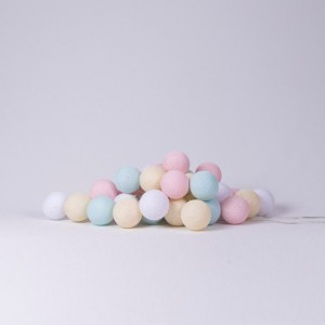 "Фото Светящиеся шары Cotton Ball Lights ""Pastel"""