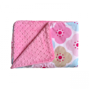 """Фото Детский плед """"Flower Dreams Candy Pink"""" Cotton Living"""