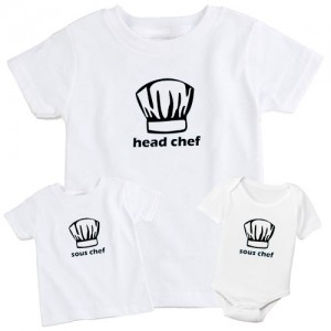 "Фото Family look Balala ""Chef-Sous Chef"""