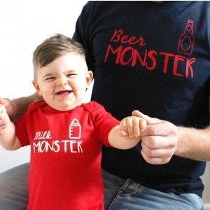 "Фото Family look Balala ""Milk monster"""