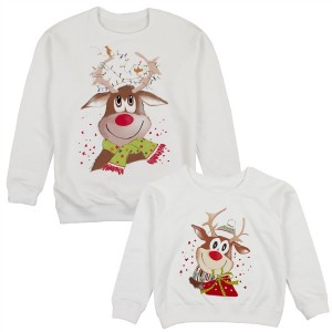 "Фото Family look Balala ""Festive Deer"""