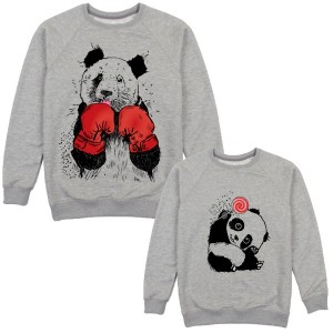 "Фото Family look Balala ""Grey Pandas"""