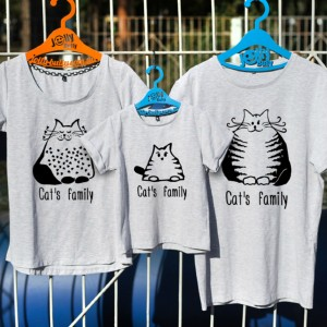 "Фото Family look Jolly Bully ""Cats Family"""