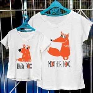 "Фото Family look Jolly Bully ""Mother Fox"""