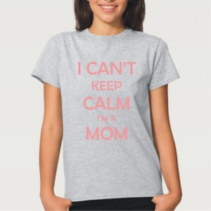 "Фото Футболка для мамы Balala ""I can't keep calm I'm a Mom"""