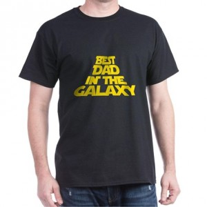 "Фото Футболка для папы Balala ""Best Dad in the Galaxy"""
