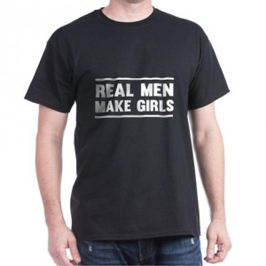 "Фото Футболка для папы Balala ""Real Men Make Girls"""
