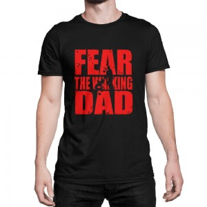 "Фото Футболка для папы Balala ""Fear the Walking Dad"""