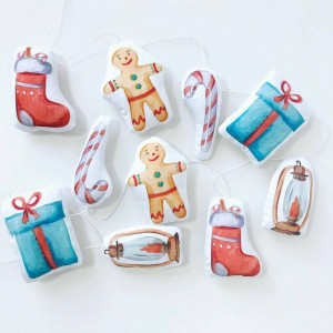 "Фото Гирлянда в детскую Happy Spaces ""Christmas Gifts"""