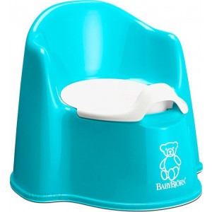 "Фото Горшок BabyBjorn ""Potty Chair"" бирюзовый"