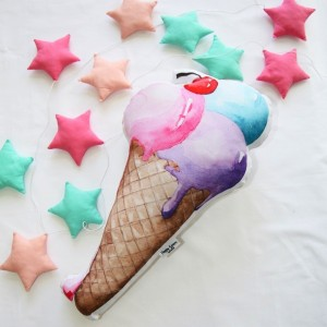 "Фото Подушка Happy Spaces ""Gelato Cherry"""