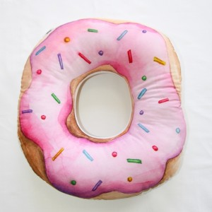 "Фото Подушка Happy Spaces ""Yummy Donut"""